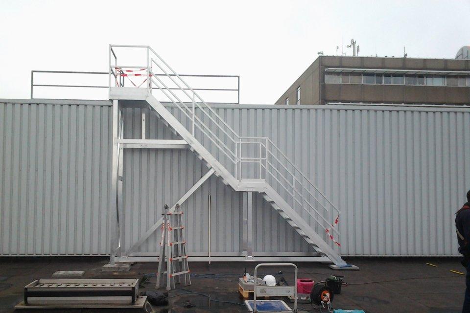 Trappen van daksafe - Trap voor daken ...